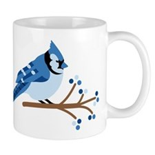 Christmas Blue Jays Mugs