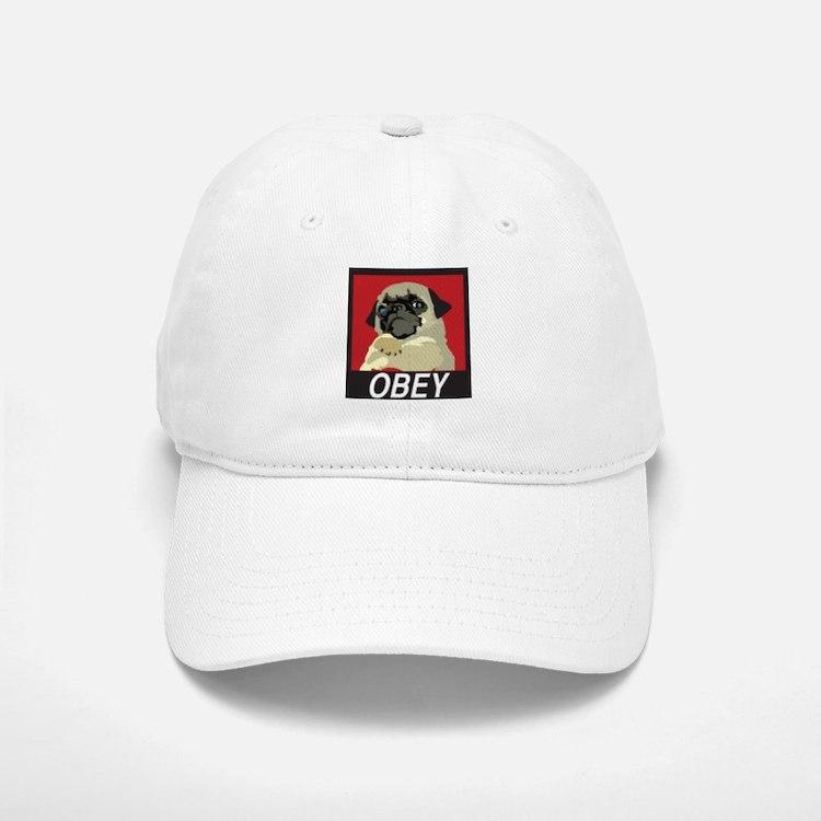 Obey Pug Baseball Baseball Baseball Cap