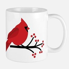 Christmas Cardinals Mugs