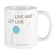 Live and Let Live Small Mug