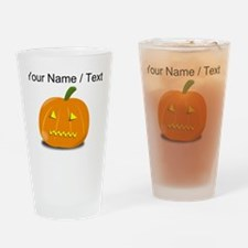 Custom Zipped Jackolantern Drinking Glass