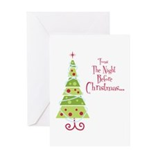 Twas The Night Before Christmas... Greeting Cards