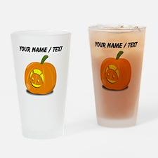 Custom Android Jackolantern Drinking Glass