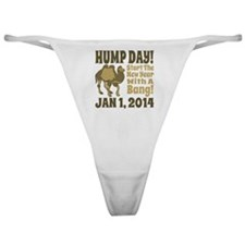 New Years Hump Day Start The Year wi Classic Thong