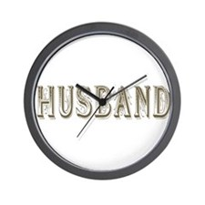 Husband Wall Clock