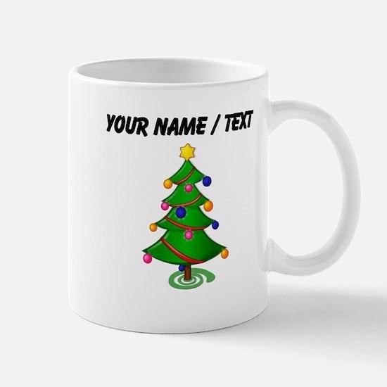 Custom Christmas Tree Mugs