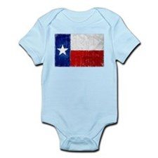 Texas Flag Distressed Infant Bodysuit