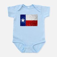 Texas Flag Distressed Infant Bodysuit