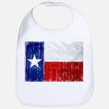 Texas Flag Distressed Bib