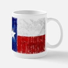 Texas Flag Distressed Mug