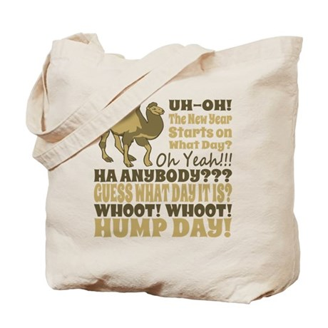 Funny New Years 2014 Hump Day Tote Bag