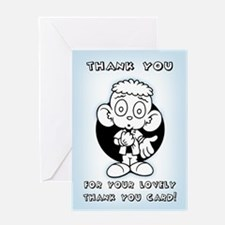 Thank You Thank You -WW Greeting Card