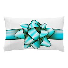 Light blue Bow! Pillow Case