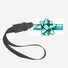 Light blue Bow! Luggage Tag