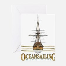 ocean sailing Greeting Cards (Pk of 10)