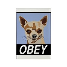 Obey Chihuahua Magnets