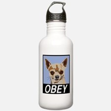 Obey Chihuahua Water Bottle