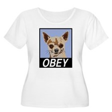 Obey Chihuahua Plus Size T-Shirt