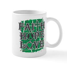 Liver Cancer Faith Hope Love Mug