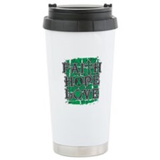 Liver Cancer Faith Hope Love Travel Mug