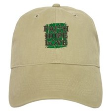 Liver Cancer Faith Hope Love Baseball Cap