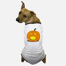 Dead Jackolantern Dog T-Shirt
