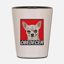 Obedecer Shot Glass
