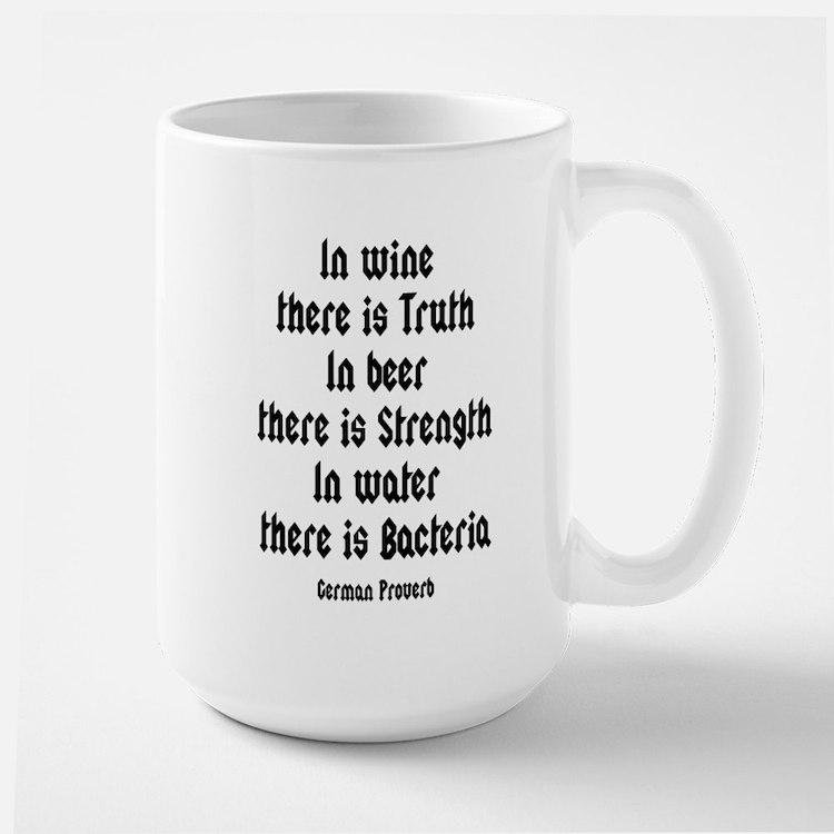 German Proverb IV Mug