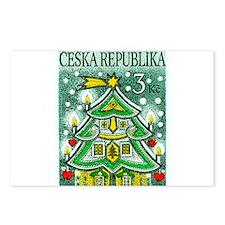 1995 Czech Republic Christmas Tree Postage Stamp P