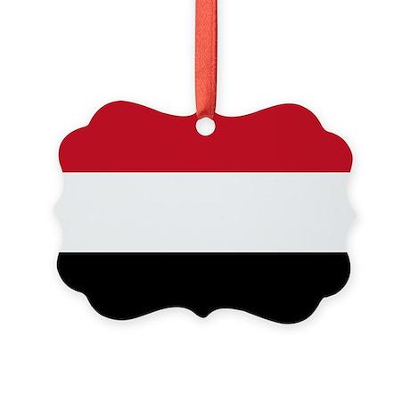 Yemen Flag Ornament By Internationalflagswag