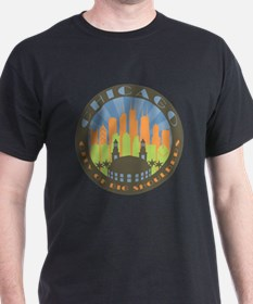 Chicago round beachy T-Shirt