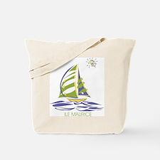 mauritian boat Tote Bag