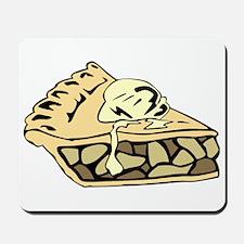 Apple Pie With Ice Cream Mousepad