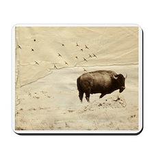 Roaming Buffalo Mousepad