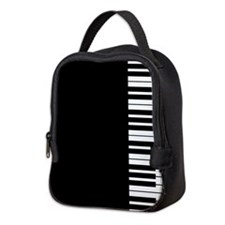 Piano Key Neoprene Lunch Bag