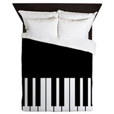 Piano Key Queen Duvet