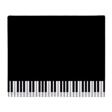 Piano Key Throw Blanket
