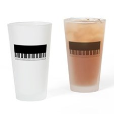 Piano Key Drinking Glass