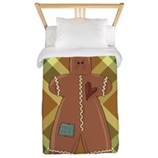 GINGERBREAD MAN Twin Duvet