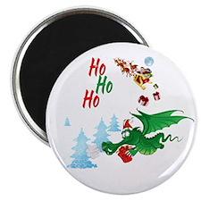 Cute Dragon Christmas  Magnet