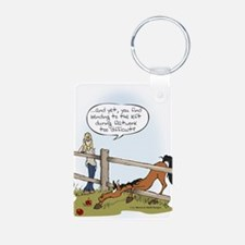 The Grass is Greener Keychains