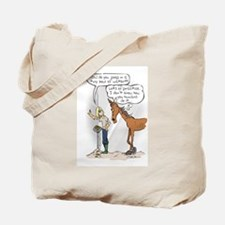 Ready, Aim....Poop Tote Bag