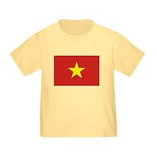 Vietnam Flag T