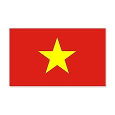 Vietnam Flag Wall Decal