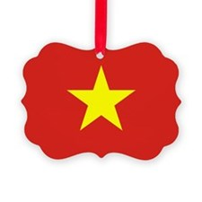 Vietnam Flag Ornament