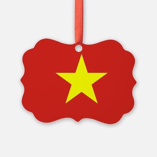 Vietnam Flag Ornament