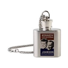JFK-Johnson Flask Necklace