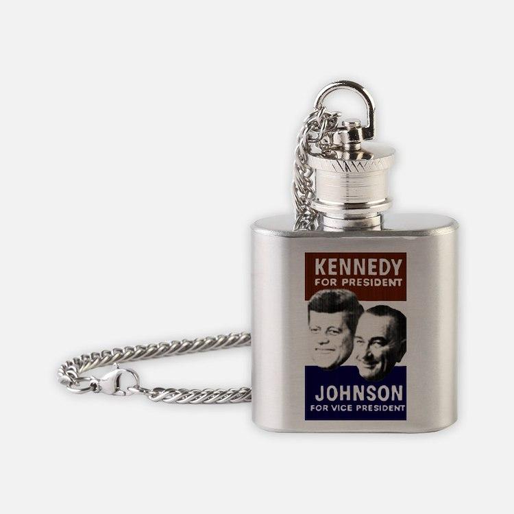 JFK-Johnson Flask Necklace