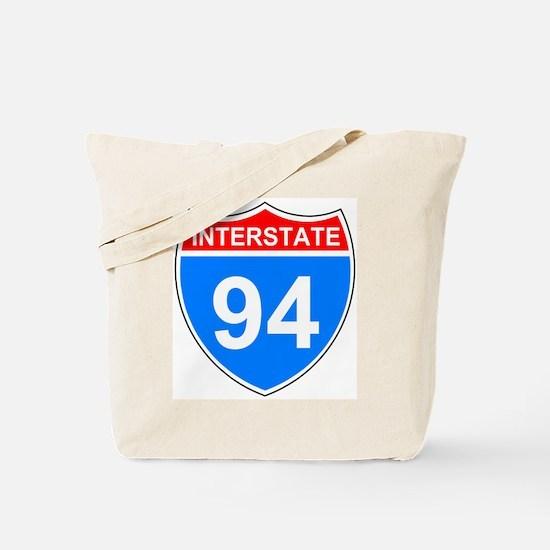 Interstate 94<BR> Tote Bag
