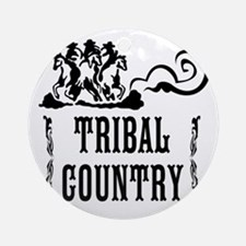 Tribal Country Round Ornament